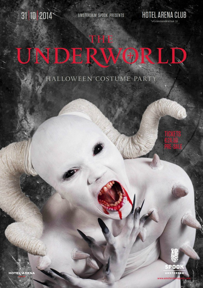 Underworld - party poster