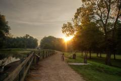 SunBurst (kendoman26) Tags: sunrise sunburst towpath goldenhour imcanal sonyalpha auxsable iandmcanal imcanaliandmcanal sigma1850f2845 sonya57 sonyslta57 auxsablelock8