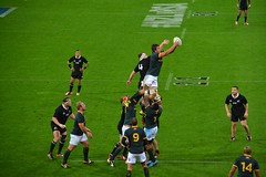 belle interception des Springboks