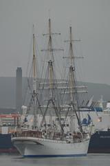 Statsraad Lehmkuhl (DSC_0888) (AngusInShetland) Tags: scotland bergen tallship shetland lerwick onedinline statsraadlehmkuhl sailtraining