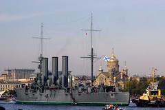 Aurora (tomliftoff) Tags: stpetersburg russia navy aurora cruiser spb