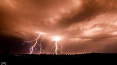 """orage toulousain (""""Mon pas"""") Tags: sky storm canon 7d nuage thunder orage 1022 clair foudre"""