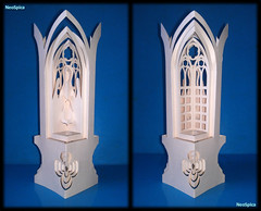Paper Cut Lantern Bethlehem Nativity 2/4 (NeoSpica / NeoLiveArt) Tags: christmas light art night paper handmade cut crafts gothic arts craft illuminated ornament cutting kirigami lantern fold lightning decor lampshade vector nativity papercraft papercutting papercutlantern