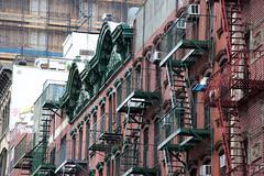 Walking on Hester Street (ShellyS) Tags: lowereastside manhattan nyc newyorkcity buildings