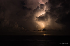 Miami Storms (frontios) Tags: miami florida fl storm sea outdooes outdoors lightning weather sky usa pentax k5 justpentax cloud clouds thunderstorm hollywood