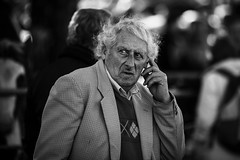 Wondering (Frank Fullard) Tags: frankfullard fullard candid street portrait emotion wonder wondering thoughtful ballinasloe horsefair horse fair irish ireland galway finger