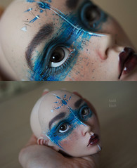 {Into the Blue} Twigling Ingenue (Koala Krash) Tags: bjd balljointdoll balljointeddoll ball joint jointed doll dolls twigling ingnue ingenue makeup faceup blue koalakrash fantasy
