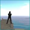 Rêverie bleutée (Tim Deschanel) Tags: tim deschanel sl second life paysage landscape mer sea ciel sky deram rêve rêverie