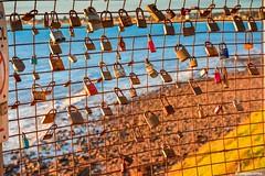 Love locks (Sougata2013) Tags: marinorocks adelaide southaustralia australia lovelocks love