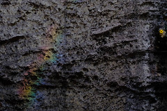 Rainbow Concrete (Nomeasmo) Tags: beton rainbow spektrum concrete xt1 spectrum licht fuji ubahn subway spectral light