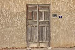 Number 5 (RagbagPhotography) Tags: torremento murcia orihuela spain old door deprived ruin disrepair art penis