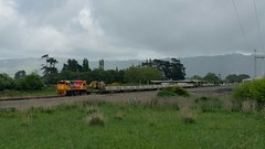 DC4156 with work train @ Woodville (Gummy Joe) Tags: kiwirail dcclass train mow locomotive