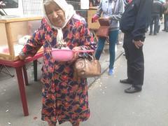 Бабушка с розовым ковшиком (GrusiaKot) Tags: ucraina ukraine україна украина travelling autumn odessa market lady elder babushka smile