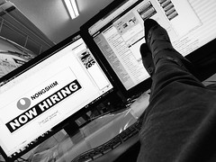 Like A Boss (MacroMarcie) Tags: tpsreports officespace office shop work likeaboss boss feetondesk putyourfeetup dracula draculasocks socks computer monitor iphone7 iphone7plus 365 project365 working iphone macromarcie