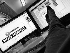 Like A Boss (MacroMarcie) Tags: tpsreports officespace office shop work likeaboss boss feetondesk putyourfeetup dracula draculasocks socks computer monitor iphone7 iphone7plus 365 project365 working iphone macromarcie