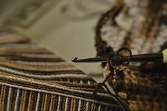 My Daily Routine for Macro Monday (annesjoberg) Tags: mydailyroutine hmm macromondays crochet crochethook macro handmade handarbete nikon nikond3200 rutiner dagligrutin