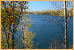 {Cuyuna Country Lakescape - III.} (Wolverine09J ~ 1 Million + Views) Tags: cuyunacountryoct16 minelake scenic lakescape minnesota cuyunacountry northcentral foliage autumnhighlights batslair level1autofocus