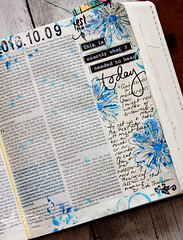 1Kings 19:1-9 (identicaltriplets) Tags: illustratedfaith biblejournaling faithart faithbooking scripture
