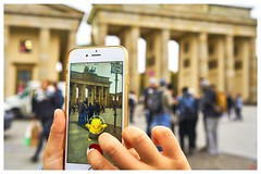 Real virtual canvas / Pokmon Go! chase at Brandenburg Gate, Berlin (blattboldt) Tags: berlin brandenburgertor pokemongo smartphone sonyilce6300 alpha6300 zeiss batis225 batis25mmf20 distagon 375mmkbquivalent brandenburggate         iphone6 app portadibrandeburgo portedebrandebourg   quadriga finger harmonie harmony frames virtualreality augmentedreality pastandpresent almostabstractart emount architecture
