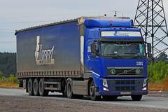 Volvo FH.400   007  96 (RUS) (zauralec) Tags: kurgancity therouter254irtysh transport company lorry  volvo fh400  007  96 rus