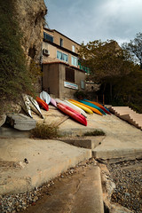 Colorful Kayaks (Jake's Gallery) Tags: kayak kayaks marseille french france quaint color