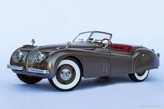 1949 Jaguar XK120 (khendrix21) Tags: danburymint 1949 jaguar xk120 124scale diecast model car