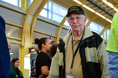 Moran, Lawrence (Larry) 20 Red (indyhonorflight) Tags: abledcaarrival moran lawrence larry 20 red ihf indyhonorflight