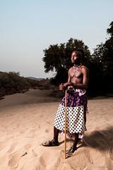 Himba Man 4048 (Ursula in Aus) Tags: africa namibia himba portrait offcameraflash
