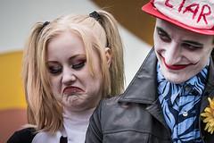 I55A1516-Redigera (michael.nilsson.se) Tags: malmfestivalen malm cosplay carneval sweden street streetphoto portrtt portrait performer performance people glamour costume comic posing masked model
