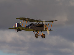 Se5 - Old Warden (davepickettphotographer) Tags: theshuttleworthcollectionuk uk oldwarden biggleswade bedfordshire trust park aviation aircraft airshow airmuseum airfield airdisplay flight flying vintage se5 royalaircraftfactory firstworldwar 1918 19141918 fighter