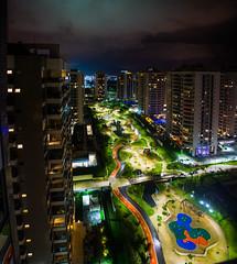 DSC_6238_PAN_1 (sergeysemendyaev) Tags: 2016 riodejaneiro rio brazil      paralympicvillage village night nightview