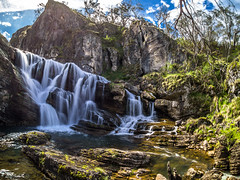 Whitefish Falls, Kosciuszko National Park, NSW. (Steve J Chivers) Tags: whitefishfalls kosciuszkonationalpark knp hiking bushwalking nature waterfall water falls canyon gorge cavecreek