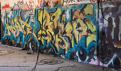 _DSC0943 (Under Color) Tags: leipzig graffiti lost places urban exploring leipsch walls