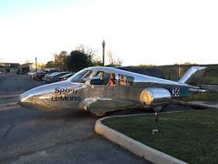 Odd Vehicle at Hains Point (Mr.TinDC) Tags: car vehicle airplane aircraft spiritoflemons dc washingtondc hainspoint