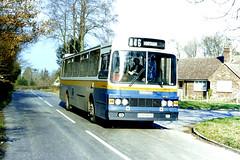 Slide 084-90 (Steve Guess) Tags: walliswood horsham england gb uk bus tillingbourne dennis dorchester wadham stringer vanguard fod943y surrey