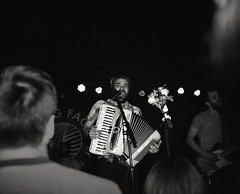 img005 (S1NCE_ALWAYS) Tags: concert music livemusic brooklyn knittingfactory mamiya7 80mm nikonsb26 flash mewithoutyou 6x7 mediumformat film analog