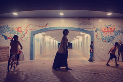 The Underpass (White Cube Studios) Tags: abu dhabi uae national day azza mughairy waleed shah fujifilm throwback