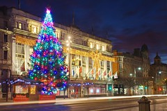 Christmas Tree and Clery's on O'Connell Street (BOCP) Tags: clerys christmastree christmaslights building oconnellstreet traffictrails lighttrails dublin ireland city cityscape citylights urbanlandscape architecture travel longexposure slowshutterspeed