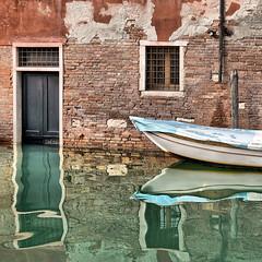 riflessi veneziani (poludziber1) Tags: street summer city colorful cityscape water boat venice venezia italy italia river