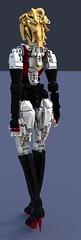 Construct Veluxe 4V (E-model) (Cagerrin) Tags: lego technic system robot robutt gynoid 3d ldd legodigitaldesigner