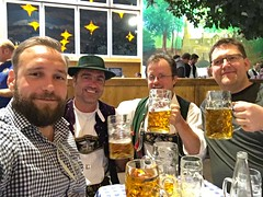We met a few German's that was fun to drink with!
