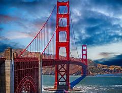 Golden Gate Bridge in San Francisco (evibaumann) Tags: san francisco golden gate bridge