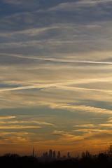 Portrait of the City (ArtGordon1) Tags: cityoflondon london england uk davegordon davidgordon daveartgordon davidagordon daveagordon artgordon1 city silhouette silhouettes sky sunset evening winter december 2016 skyscrapers