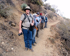 008 A Short Rest Along The Way (saschmitz_earthlink_net) Tags: 2016 california devilspunchbowl losangelescounty valyermo park hike hiking