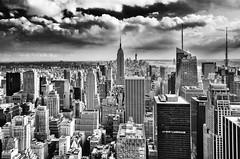 La nostalgie des voyages... (J2MC) Tags: nyc newyorkcity j2mc pentax noiretblanc city blackandwhite blackwhite urban building