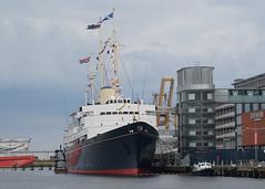 'Royal Yacht Britannia' - Leith (Neil Pulling) Tags: ship scotland leith edinburgh forth uk shipping