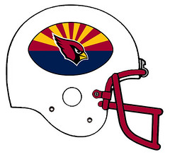 Arizona Cardinals alternate (Flagman00) Tags: football helmet redesign fantasy nfl arizona cardinals alternate state flag