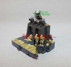 Gand. (JAlexanderHutchins) Tags: lego star wars gand clone droid snow sand greebles brackets blaster
