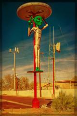 CHANNELS OF COMMUNICATION (akahawkeyefan) Tags: alien space baker ca davemeyer antennae weird