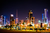 ..kuwait skyline.. (asifshah.com) Tags: kuwait city skyline night tower towers cityscape urban